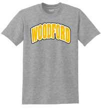 "Load image into Gallery viewer, Arched ""Woodford"" Cotton Short Sleeve Tee"