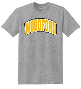 "Arched ""Woodford"" Cotton Short Sleeve Tee"