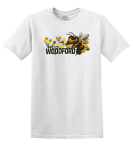 "Mentors and Meals  |  ""We Are Woodford"" Yellow Jacket Tee"