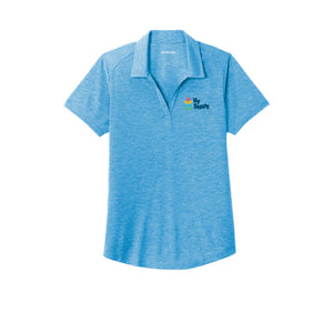 Ky Shape Ladies Triblend Polo