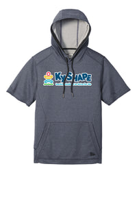 Ky Shape Adult Performance Terry Short Sleeve Hoodie