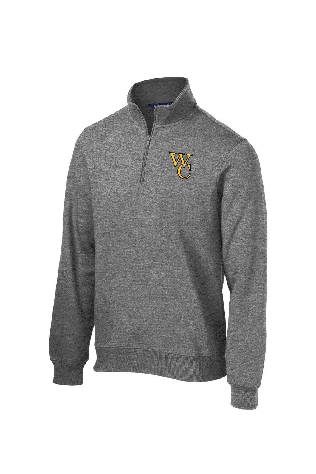 Woodford Embroidered 1/4-Zip Sweatshirt