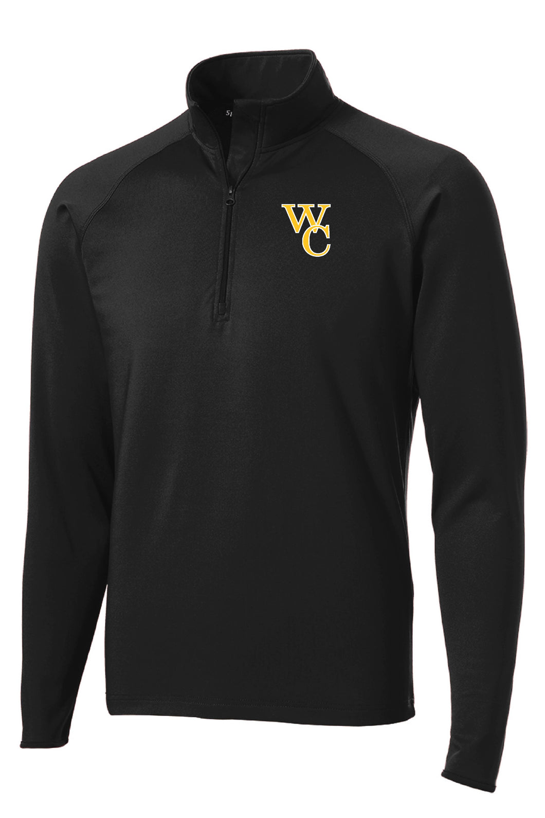 Woodford Embroidered 1/2-Zip Lightweight Pullover