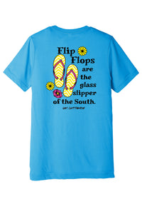 """Southern Glass Slipper"" Triblend Tee"