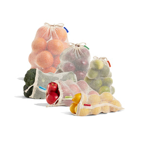 Reusable Produce Bags - Packaged as Sets