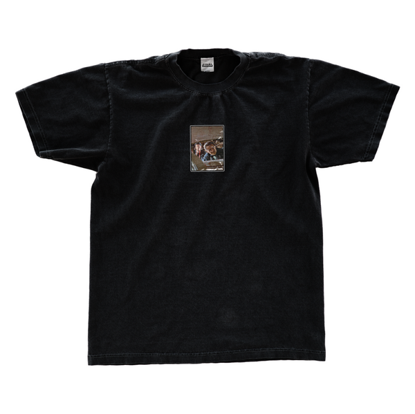 BLOOD ON THE CAR SEAT T SHIRT
