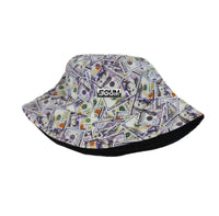EMBROIDERED LOGO BUCKET CASH