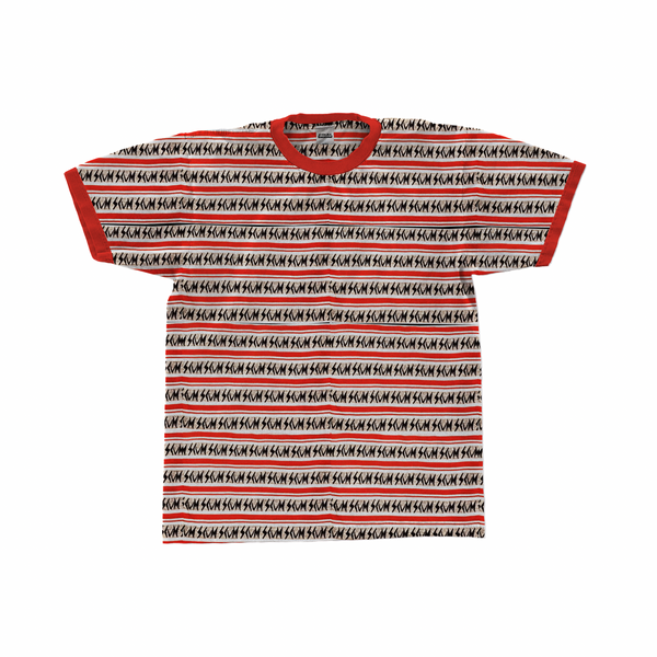 SCUM ORIGINS STRIPE T SHIRT