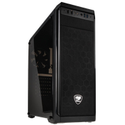 Cougar MX330 Midi Tower Case – Black Window (385NC10.0002)