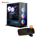 GIZMOPOWER Gaming PC CPU-Advanced High Performance Computer Desktop (10TH Gen CPU i5 10400, GTX 1660 Super  256GB SSD, 1TB HDD, RAM 16GB)-Windows 10 Pro & 6GB Graphics Memory-Black