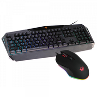 MeeTion C510 Rainbow Backlit USB Keyboard and Mouse Combo | MT-C510