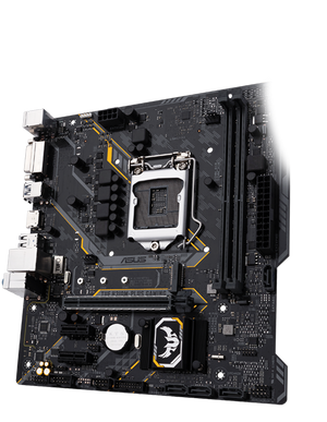 Asus TUF H310M-PLUS Intel H310 (Socket 1151) DDR4 Micro-ATX Gaming Motherboard |  90MB0WJ0-M0EAY0