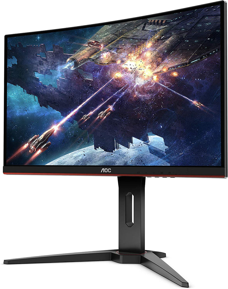 "AOC C24G1 24"" Curved Frameless Gaming Monitor 144Hz Full HD 1920x1080, 1500R curved"