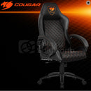 Cougar Fusion High-Comfort Gaming Chair - Black