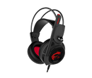 MSI Gaming Headset with Microphone, Enhanced Virtual 7.1 Surround Sound DS502