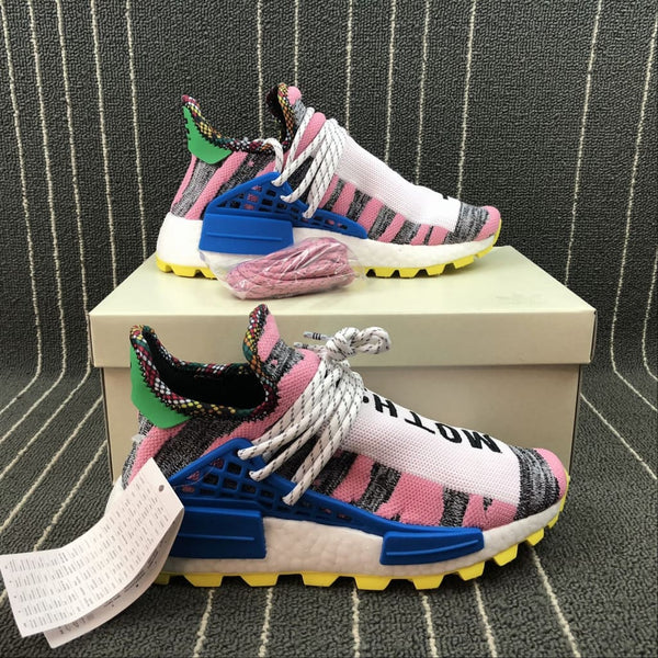 3dd423bf1 Adidas NMD Hu Pharrell Solar Pack Mother Land  BB9531