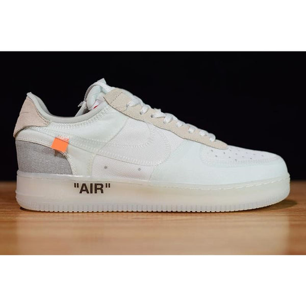 e91f8a0fd9056c Off-White x Nike Air Force 1 Low White  AO4606-100 - RestoringShoemanity