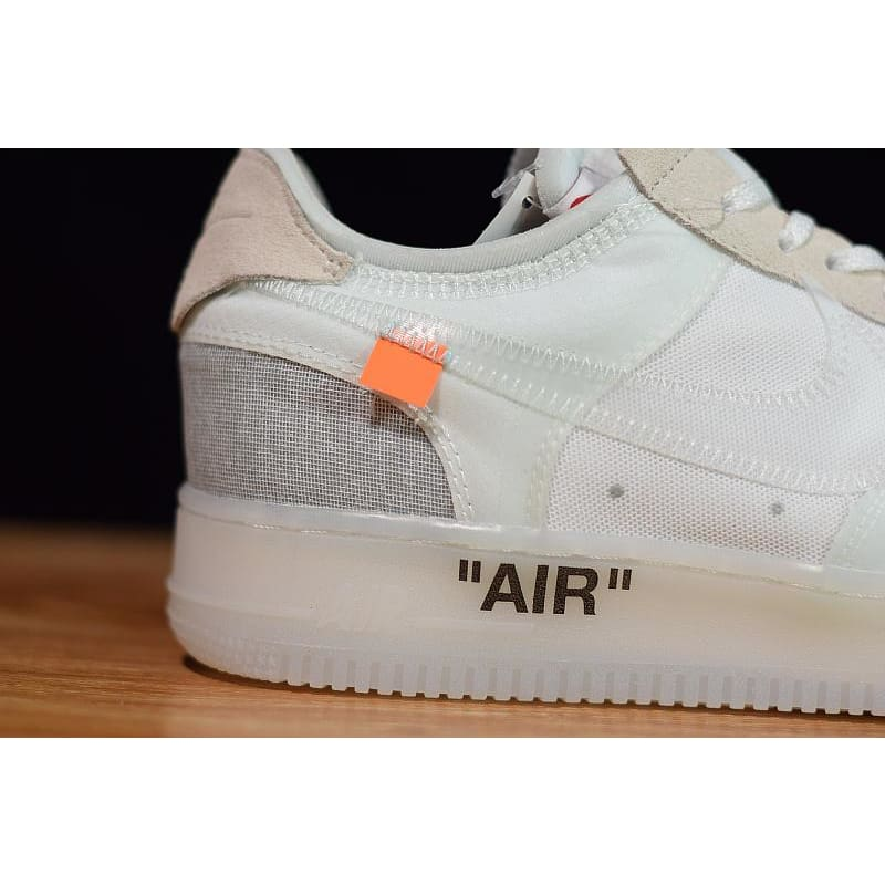 a61257b2428a Off-White x Nike Air Force 1 Low White  AO4606-100 !--