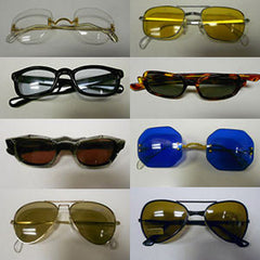 Antique Sunglasses in a Variety of Colors and Styles