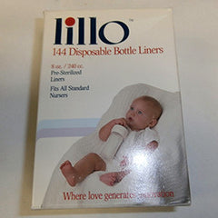 Lillo 144 Disposable Baby Bottle Liners 18/Case