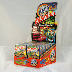 Mega League Baseball Fast Action Card Game 12/Display