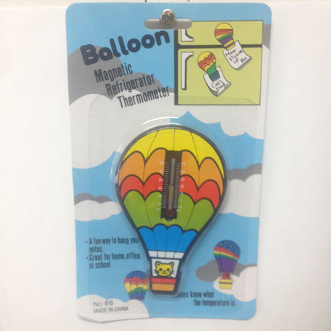 Balloon Magnetic Refrigerator Thermometer Case Lot