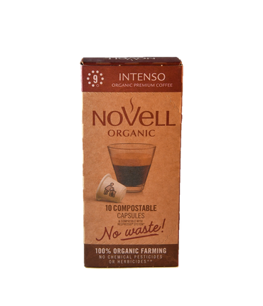 INTENSO 100% ORGANIC, 100% COMPOSTIBLE, NO WASTE CAPSULES