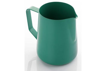 0.6 litre teflon foaming jug - green