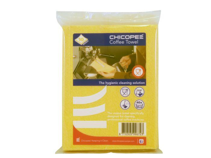 Chicopee supertwill heat resistant coffee wipe - orange (pack of 10)