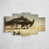 Star Citizen Canvas Wall Art - Aegis Retaliator Canvas Wall Art - Star Citizen Canvas Print - 5 Piece Canvas Wall Art Star Citizen Poster 02