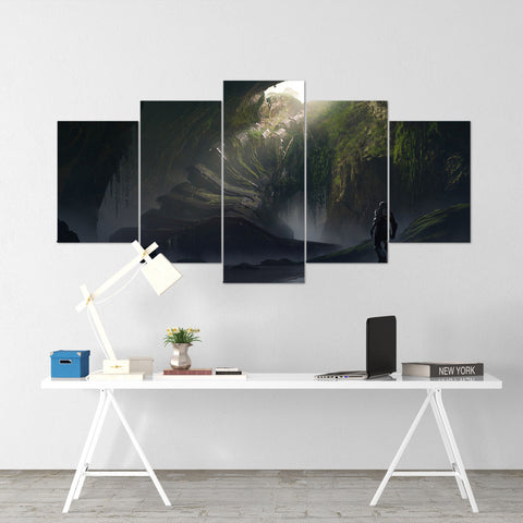 Anthem Door - 5 Piece Canvas Wall Art Gaming Canvas