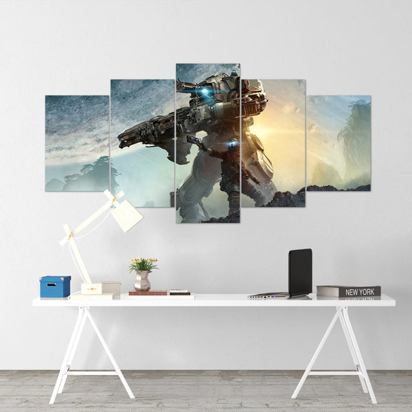 Apex Legends - Hero 1 - 5 Piece Canvas Wall Art Gaming Canvas