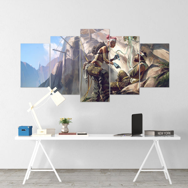Apex Legends - Lifeline 1 - 5 Piece Canvas Wall Art Gaming Canvas