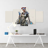 Apex Legends - Lifeline 2 - 5 Piece Canvas Wall Art Gaming Canvas