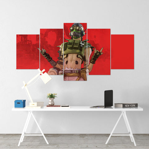 Apex Legends - Octane 1 - 5 Piece Canvas Wall Art Gaming Canvas