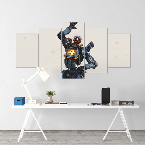 Apex Legends - Pathfinder 1 - 5 Piece Canvas Wall Art Gaming Canvas