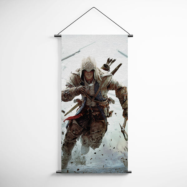 Assassin's Creed 04 - Decorative Banner Flag for Gamers Assassins Creed Poster