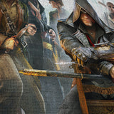 Assassin's Creed 02 - 5 Piece Canvas Wall Art Gaming Canvas