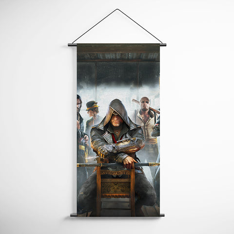 Assassin's Creed Banner Flag 02 Origins Decorative Banner Flag for Gamers Assassin's Creed Poster