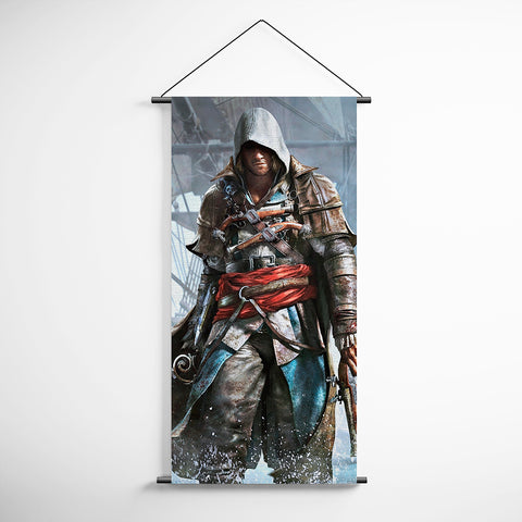 Assassin's Creed Black Flag 07 Decorative Banner Flag for Gamers
