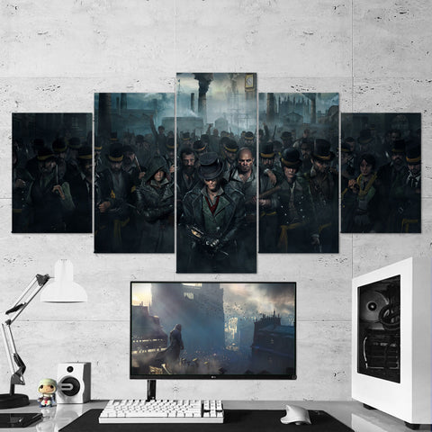 Assassin's Creed 09 - 5 Piece Canvas Wall Art Gaming Canvas