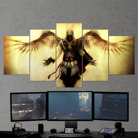 Assassin's Creed 13 - 5 Piece Canvas Wall Art Gaming Canvas
