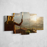 Assassin's Creed Odyssey 16 - 5 Piece Canvas Wall Art Gaming Canvas