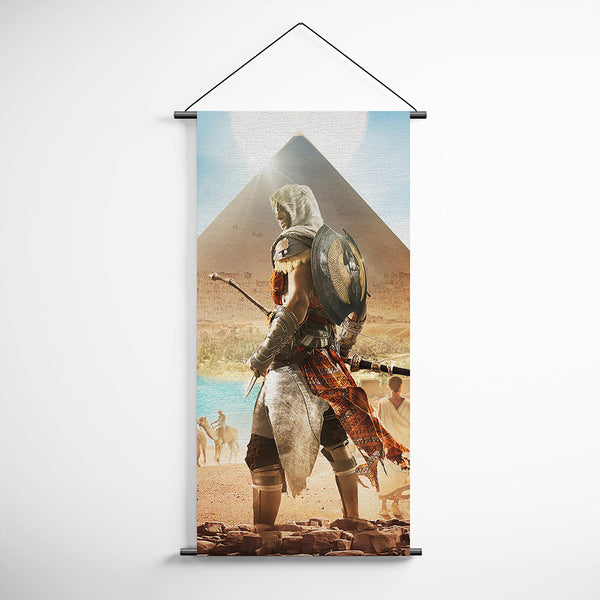 Assassin's Creed 24 Origins Bayek Decorative Banner Flag for Gamers