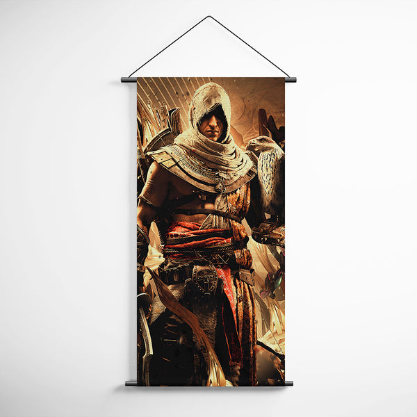 Assassin's Creed Origins 29 Bayek Decorative Banner Flag for Gamers