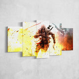 Assassin's Creed 31 - 5 Piece Canvas Wall Art Gaming Canvas