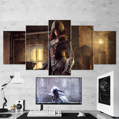 Assassin's Creed Syndicate 32 - 5 Piece Canvas Wall Art Gaming Canvas