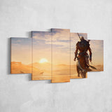 Assassin's Creed Origins 40 - 5 Piece Canvas Wall Art Gaming Canvas