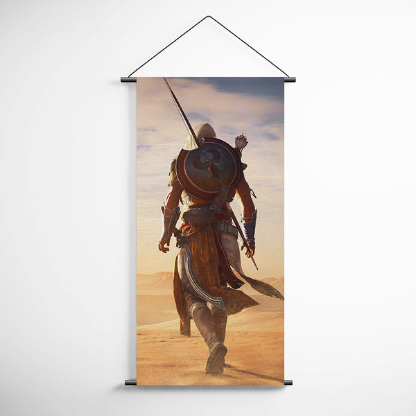 Assassin's Creed Origins Bayek 40 Decorative Banner Flag for Gamers