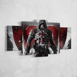 Assassin's Creed Rogue 46 - 5 Piece Canvas Wall Art Gaming Canvas
